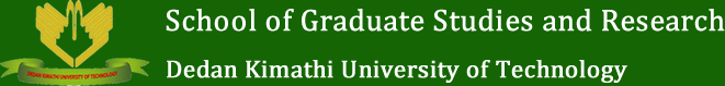 School of Graduate Studies and Research